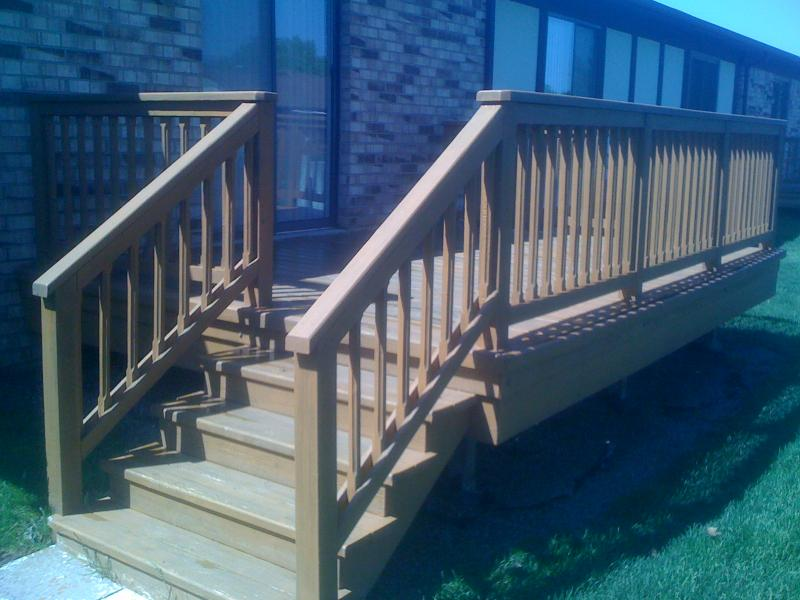 Warren deck staining for seniors