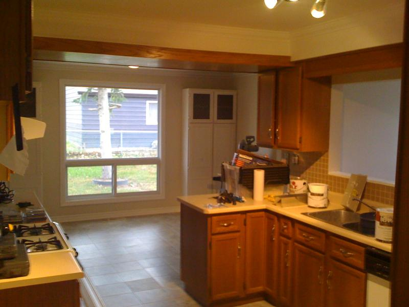 finished kitchen in oakland county