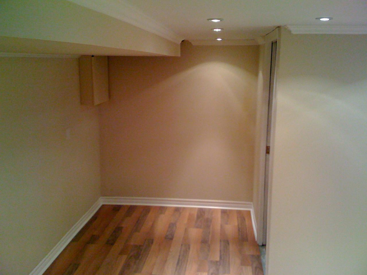 Completed Basement In Bloomfield Hills