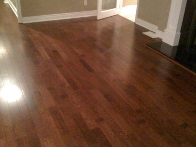 hardwood flooring in a warren home