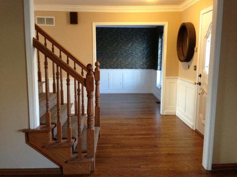 Rochester Hills finished foyer