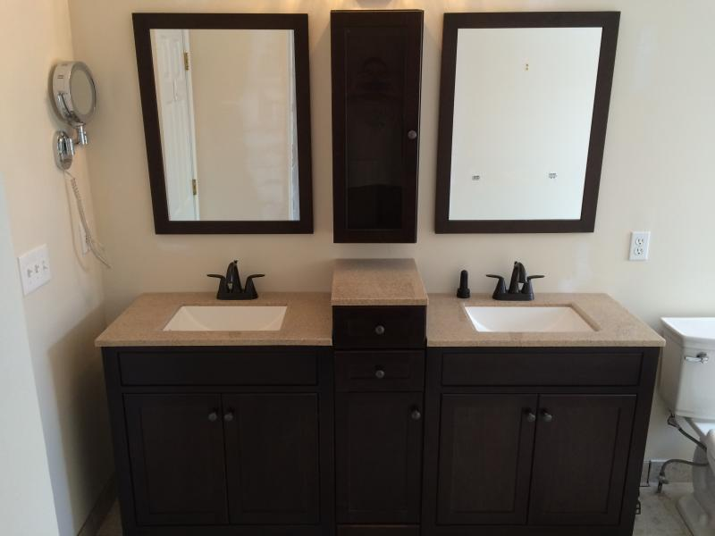 finished bathroom in canton,Mi