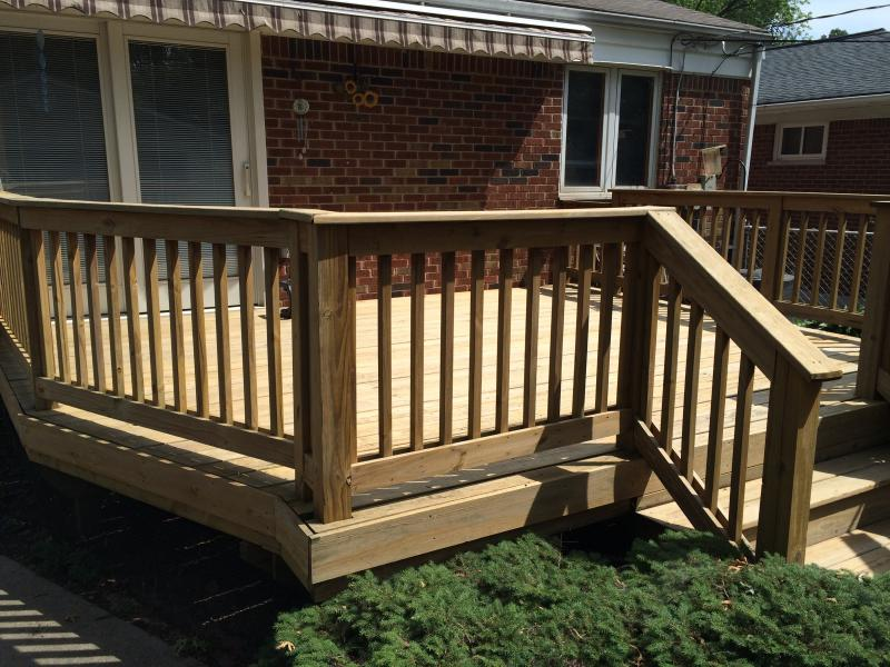 ... finished deck stain