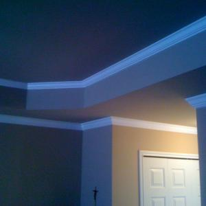 crown molding installation in Oxford, Mi