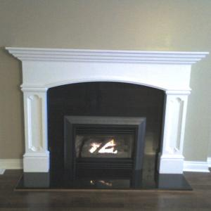 fireplace installtion